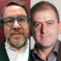 Félix Rivadulla y Benjamín Lana