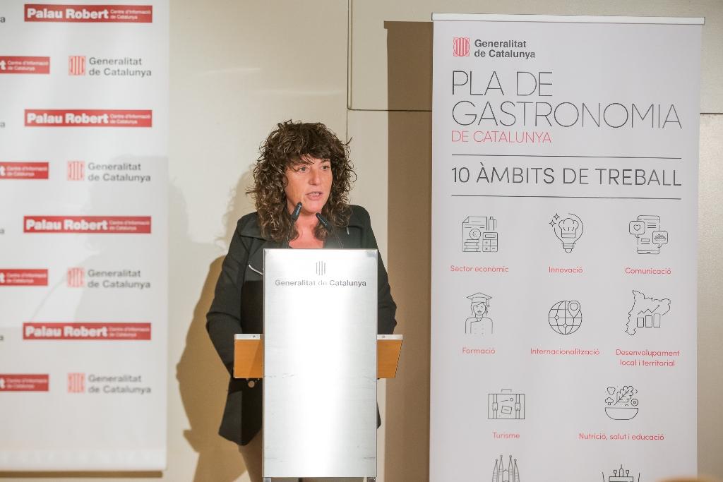 Teresa Jordà i Roura, consellera de Agricultura, Ramaderia, Pesca i Alimentació. Foto: Marc Caballero